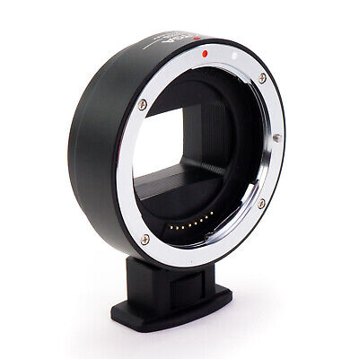 Electronic AF Metal Adapter Ring Canon EF EF-S lens to Sony E-Mount Camera NEX