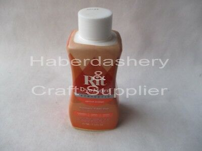 Rit Liquid Dye For Synthetics 210Ml*apricot Orange