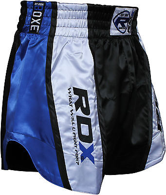 RDX Muay Thai Fight Shorts MMA Grappling Kick Boxing Trunks Martial Arts UFC BU