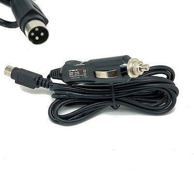 12v 4 Pin Car Cigarette Lighter Adapter lead for LED TV in car adapter charger