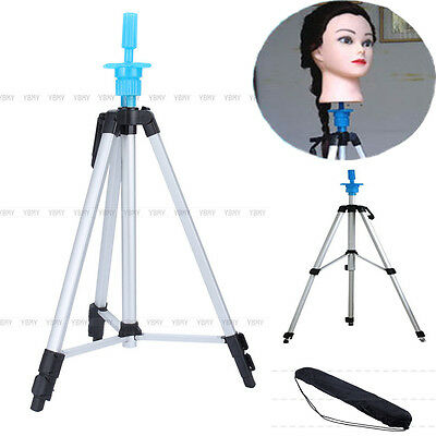 Adjustable Tripod Stand Hair Cosmetology Mannequin Training Head Holder And Bag