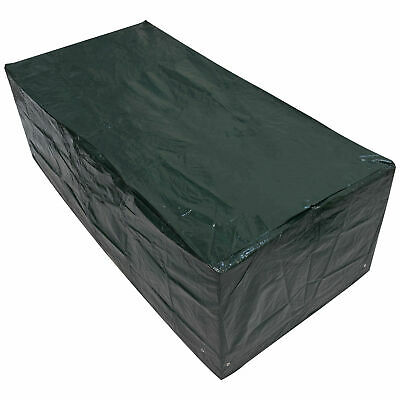 Woodside 6FT Large Rectangle Waterproof Garden Furniture Table Cover