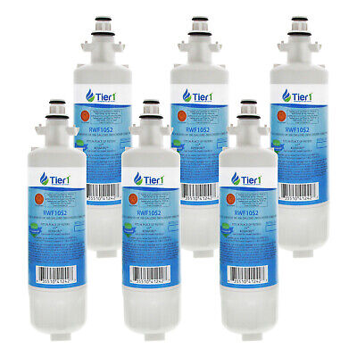 Fits LG LT700P 46-9690 ADQ36006101 Comparable Refrigerator Water Filter 6 Pack