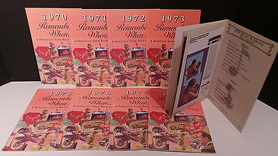 Remember When Birthday Annv booklet 1973 1975 1979