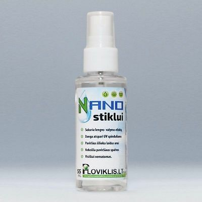 Nano for glass. Nano impregnation for cars windows Nano Spray Technology