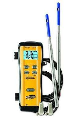 Fieldpiece SDP2 Wireless Dual In-Duct Psychrometer SDP2 Works With Sman4 Or HG3