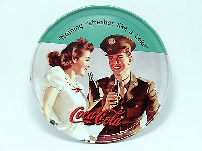 Coca-Cola Coasters Nothing Refreshes like a Coke Collectible Drinking Classic