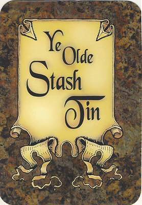 YE OLDE STASH TIN - FUN - Aufkleber Sticker - Neu #204