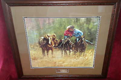 """Beautiful Signed Limited Edition Art Entitled """"The Honeymoon""""by Bonnie Conrad!"""