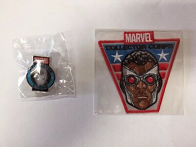 Funko Marvel Collector Corps Pin And Patch Secret Wars Set