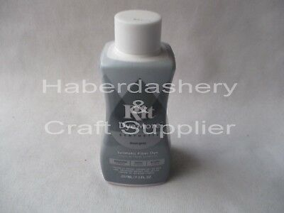 Rit Liquid Dye For Synthetics 210Ml*frost Gray