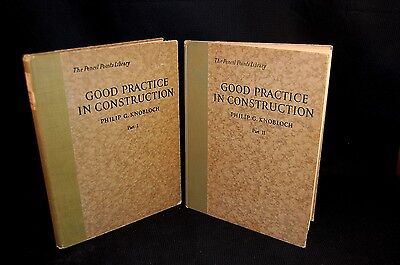 Good Practice in Construction 1 & 2 Architectural Drawing 1923 Philip Knobloch