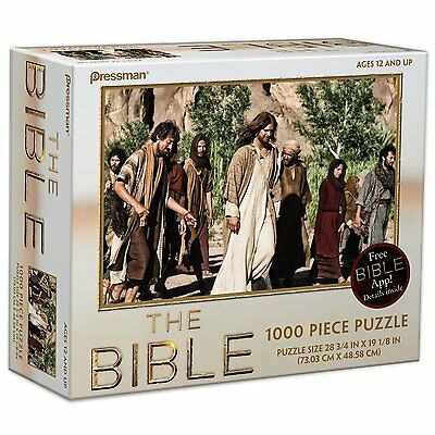 Pressman Toys The Bible Puzzle Style #3 (1000-Piece) New Sealed