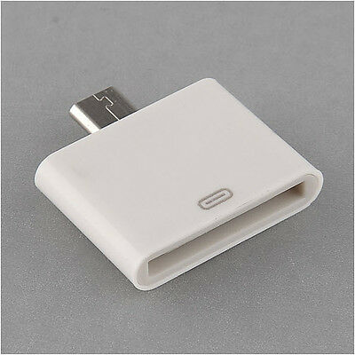 iPhone Dock to Micro USB Connector Adaptor Converter 30pin Female to Micro USB