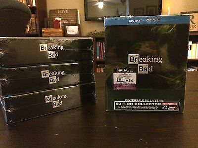 Breaking Bad Complete Series Blu-Ray - French Box - Region Free