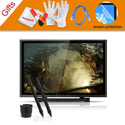 19 inch USB Graphics Tablet Monitor+2x Pen +Pergear Cleaning Kits- UGEE UG-1910B