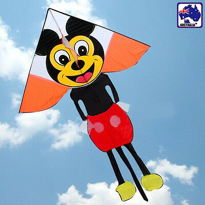 Mouse Kite 150x225cm Line&Winder included Easy to Fly OKITE4331&OKLIN2040