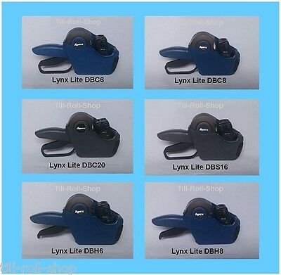 Lynx Lite Price Gun & Label Combo Pack - Select Colour & Quantity of Labels