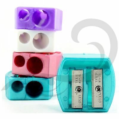 Make Up Pencil Sharpener Eye Lip Khol Two Sized Double Pencil