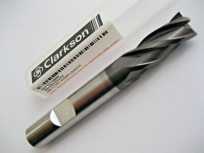 10mm HSSCo8 4 FLUTED TiALN COATED END MILL EUROPA TOOL / CLARKSON 1071211000 #43