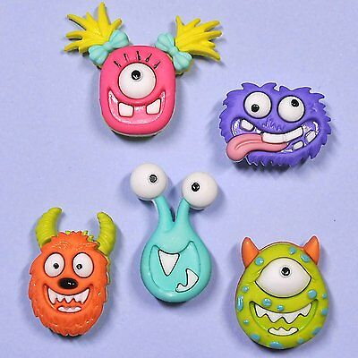 DRESS IT UP Buttons Mad for Monsters 7671 - Embellishments