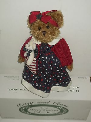 2004 Betsy and Ross--The Bearington Collection--NEW in Box.