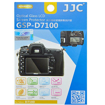 JJC GSP-D7100 Optical GLASS LCD Screen Protector Film for Nikon D7100 D-7100 9H