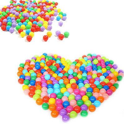 100pcs Hot Secure Baby Kid Pit Toys Swim Soft Plastic Fun Colorful Ocean Balls