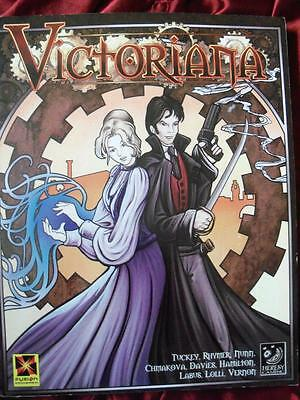 VICTORIANA Roleplaying Game Core Rulebook. Steampunk Goth. RPG OOP