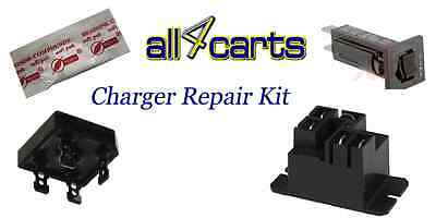 Club Car Powerdrive 2 Charger Repair Kit  - For Golf Cart Charger 22110 Model
