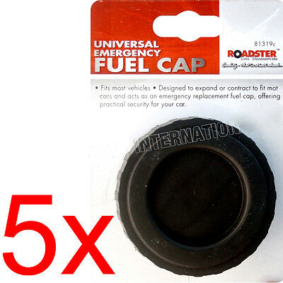 Universal Emergency Fuel Cap Petrol Diesel Replacement Lid Reusable Non Locking