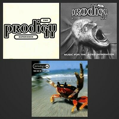 The Prodigy - First Three Albums Bundle - 3 x Vinyl LP *NEW & SEALED*