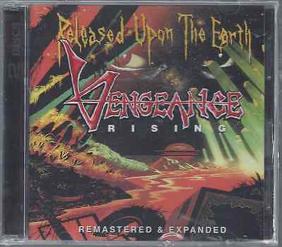 Vengeance Rising-Released Upon The Earth Remastered & Expanded CD (Brand New)