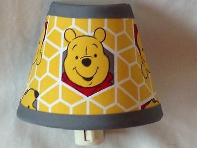 Winnie the Pooh Fabric Nursery Nightlight