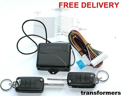 Car Remote Control Central Lock Locking Kit Keyless Entry System FOR Volkswagen