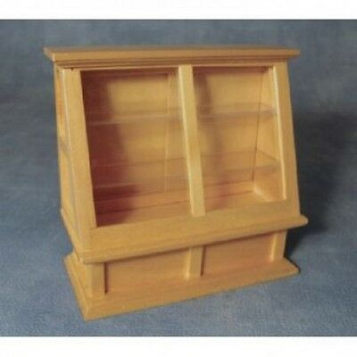 Pine Shop Counter Display, Dolls House Miniatures. 1.12 Scale, Furniture Wood