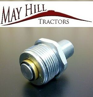 """Male Dowty Type Hydraulic Tractor Fitting 1/2"""" BSP Massey,Ford,Fordson,DB,Case"""