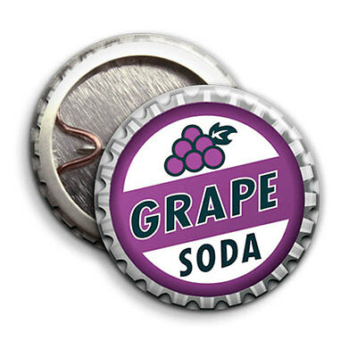 Grape Soda - Button Badge - 25mm 1 inch  - Up Parody