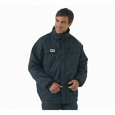 Pioner Navy Nomex Comfort Flame Fire Retardant Winter Padded Jacket Rrp £214
