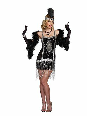Simply Fab Flapper Roaring 1920's 20s 20's Adult Costume