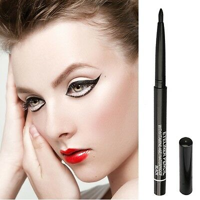 Waterproof Gel Cream Eye Liner Black Eyeliner Pen Makeup Cosmetic NEW