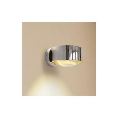 Top Light Puk Wall Wandleuchte Lampe Linse / Glas chrom Badleuchte Badlampe