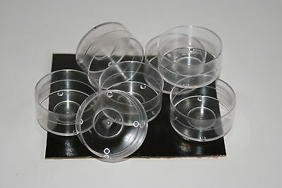 100 Tealight Candle Moulds. Polycarbonate. For making tealight candles