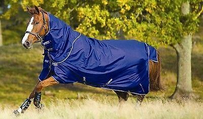 Amigo Hero 6 Lite Plus 600 Denier 0g Turnout Rug Atlantic Blue Horseware Ireland
