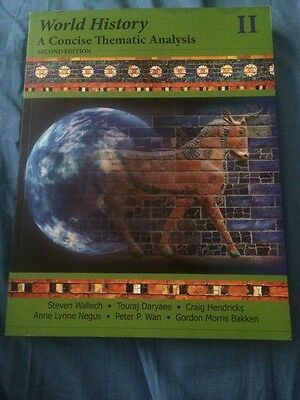 World History 2 A Concise Thematic Analysis 2nd Edition