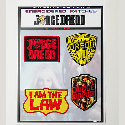JUDGE DREDD / 2000AD Patches - Iron-On Patch Mega Set #55 - FREE POST