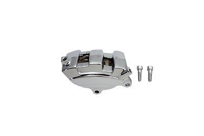 Chrome Rear 4 Piston Caliper replaces OEM No: 44080-08 for Harley FLT 2008-UP