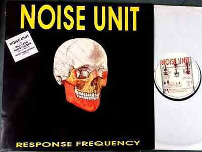 NOISE UNIT / RESPONSE FREQUENCY - LP (printed in Belgium 1990) EX++/NM
