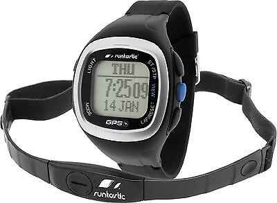 Runtastic GPS Sports Watch with Heart Rate Monitor Strap