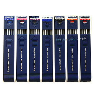 STAEDTLER Mars Carbon 2mm Drafting Pencil Lead Refill